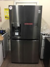 LG American fridge freezer ex-display model GSL961PZBV RRP £1300 3 months warranty free local delive