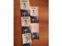 4 Soccer Aid tickets for June 10