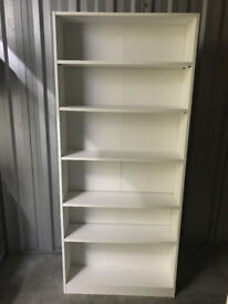 Great white bookshelf from IKEA (1 year old)