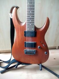 Ibanez RGA32 Guitar - As new condition, barely played