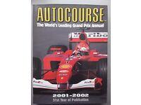AUTOCOURSE 2001-2002 The World's Leading F1 Grand Prix Annual