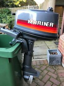 Mariner 4hp 2 stroke outboard
