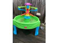 Kids water/sand play table