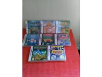 assortment of nintendo ds games puzzles and word games