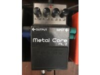 Boss metal core guitar pedal