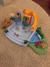 Playmobil 4858 Swimming Pool with Slide and Shower