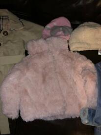 Girls jackets/coats bundle sizes 3-24 months