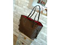 Handbag used Lv