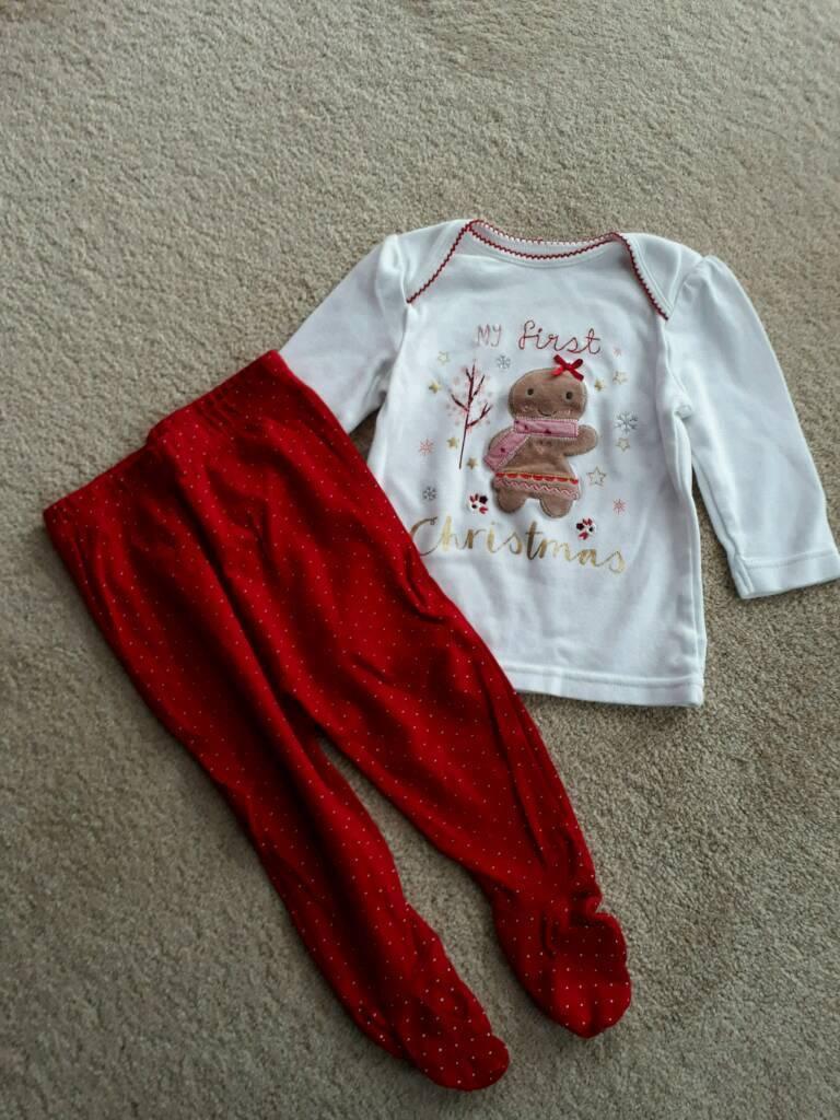 6-9 months Christmas pyjamas
