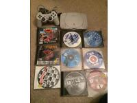Retro Sony ps1 and games