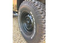 BF Goodrich All terrain tyres 265 75 16