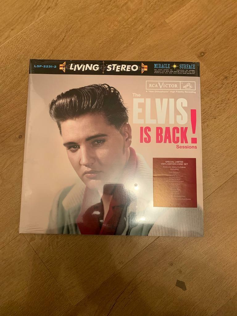 Elvis Presley elvis is back ftd vinyl sealed | in Sunderland, Tyne and Wear  | Gumtree
