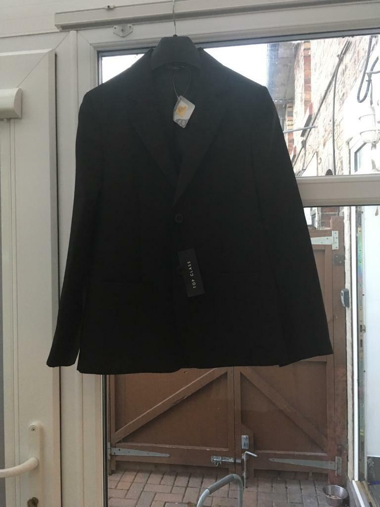 69fb07d66 Girls top class(Littlewoods) black school blazer brand new age 11-12y ...