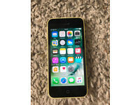 Unlocked iPhone 5C Yellow. 16GB
