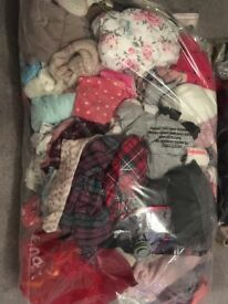 Extra Large bag of Girls Age 4-5 clothes and shoes