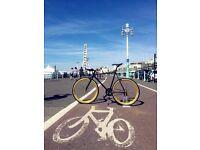 SALE ! GOKU cycles Steel Frame Single speed road bike TRACK bike fixed gear fixie ZA6