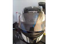 Space Crown Crash Helmet 1 year old XL size