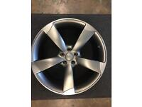 """1 Audi A5 Alloy wheel 9x21"""" for sale excellent condition only got one £350 call 07860431401"""