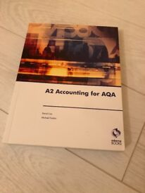 Osborne Books – A2 Accounting for AQA – David Cox & Michael Fardon – ISBN 978-1-905777-17-4
