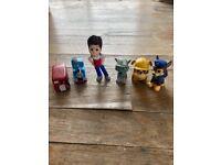 FREE: random Thomas the Tank and Paw Patrol mini figure