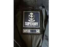 Superdry Classic P Coat, Navy Label size M