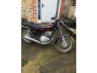 Yamaha SR125 Motorbike