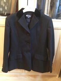 Black dressage/show jacket