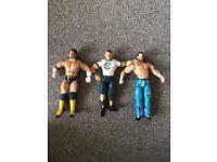 6 WWE figures
