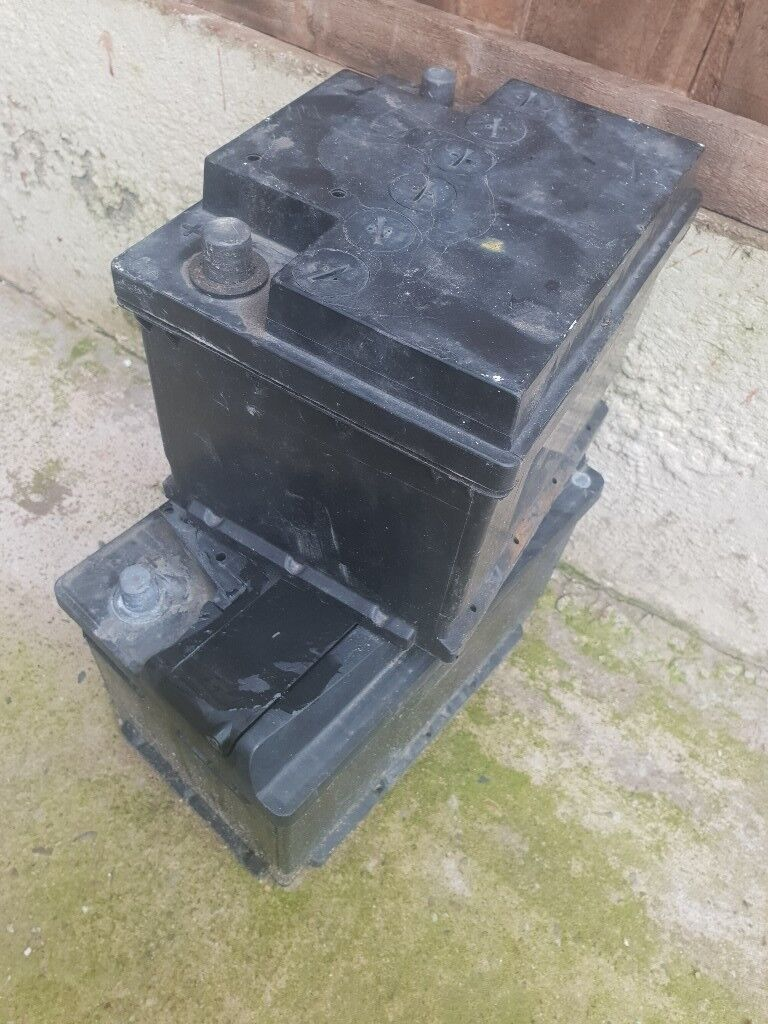 Used Old Car Batteries Small And
