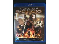 Season Of The Witch Blu-Ray DVD - Condition: Excellent