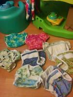 Cloth diapers and covers
