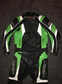 Rst 2 piece leathers great condition