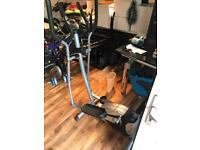2 in 1 Pro fitness cross trainer and bike
