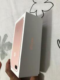 IPHONE7 PLUS 32GB ROSE GOLD