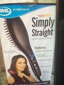 Simply straight heat brush