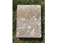 Reclaimed lime stone tiles