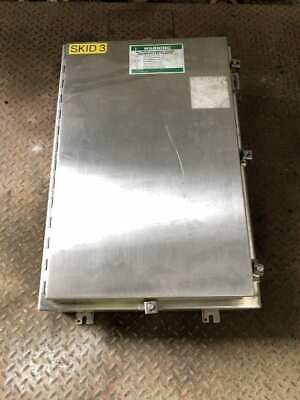 Hoffman A30h2008sslp Stainless Steel Electrical Enclosure 30 X 20 X 8