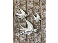 Sparrow wall decoration