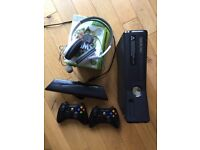 Xbox 360 250 GB with Kinect and Games Bundle