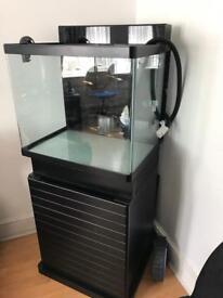 Red Sea Max 130D 130L aquarium+ stand cabinet!