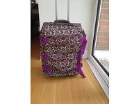 Roxy Quicksilver 80 litre roller split suitcase £50 (RRP £115)