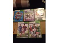 5 x XBOX 360 GAMES FOR SALE - hardly played- in very good condition