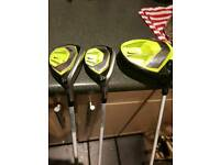 Nike golf set up
