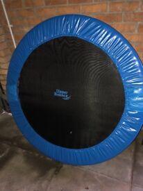 Fitness trampoline Mini foldable hardly used