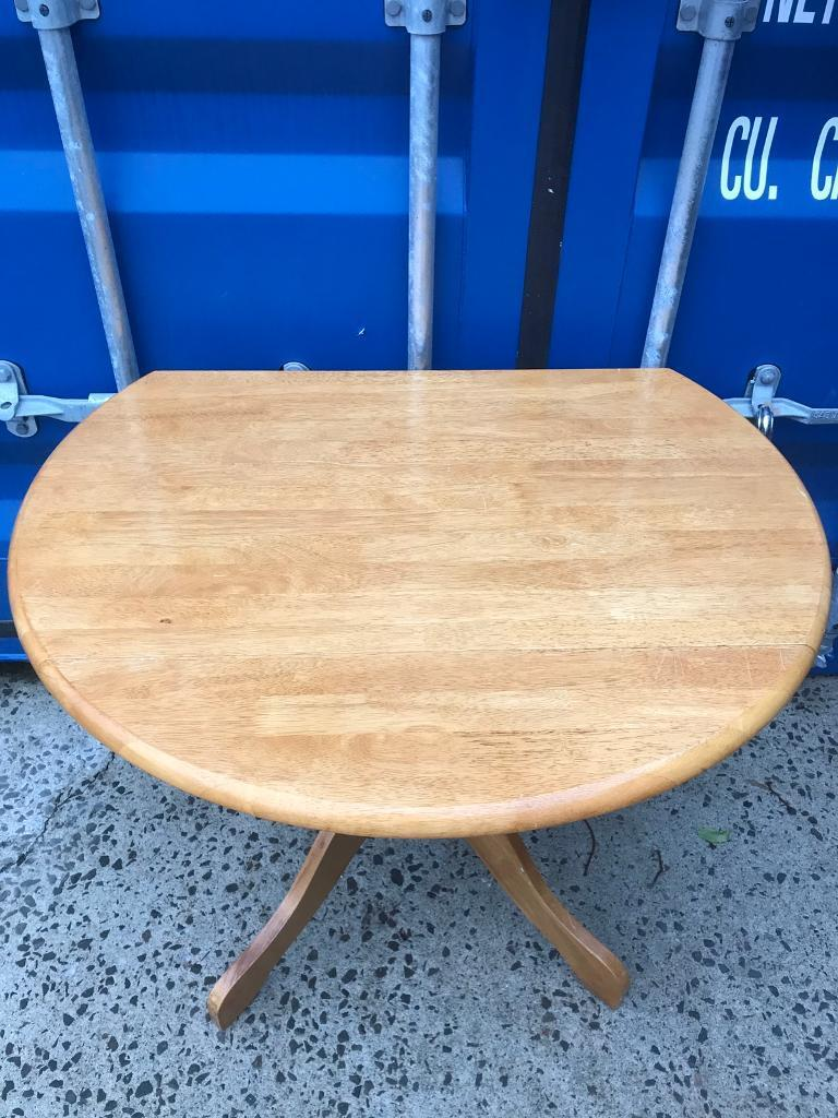 CHEAP drop leaf pine table FREE DELIVERY PLYMOUTH AREA