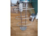 Towel rail stand from Dunelm