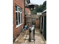 Stand up patio heater