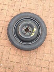 Michelin Tex space saver wheel T125 80 R 15