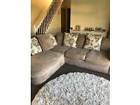Corner sofa from Furniture Village