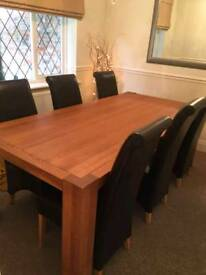 Table solid oak